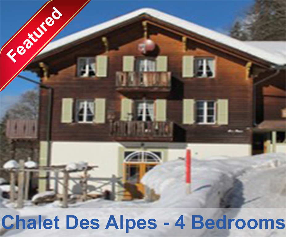 chalet des alpes 4 bedroom top floor wengen chalets. Black Bedroom Furniture Sets. Home Design Ideas