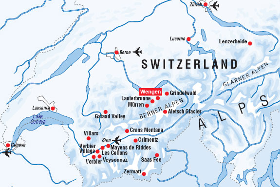 Как добраться в Венген
